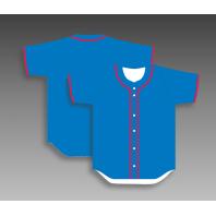 Custom baseball shirts full button any color