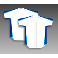 Sublimation baseball tops full button any color