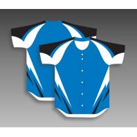 Design baseball jerseys full button any color