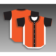 Custom baseball shirts full button any color