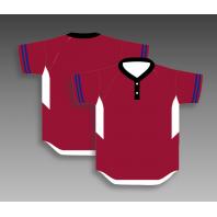 Custom baseball jerseys two button any color