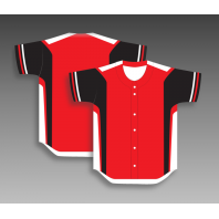 Custom baseball jerseys full button any color