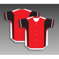 Custom baseball jerseys full button any color