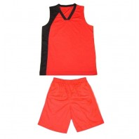 Basketball jerseys and shorts with print