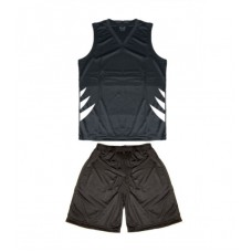 Basketball uniforms with print 12 colour pattern