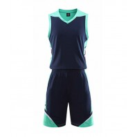 Basketball singlet and shorts with print 5 colour