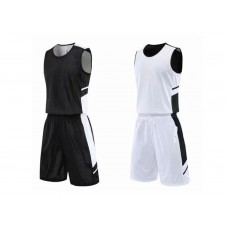 Reversible basketball uniforms with print 4 colour
