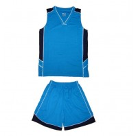 Basketball uniforms with print 4 colour M001
