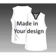 Custom basketball jerseys in your design inclusive print