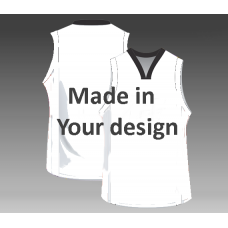 Custom basketball jerseys in your design inclusive print