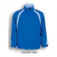 Unisex Track Suit Jacket With Contrast Panels 6 colour