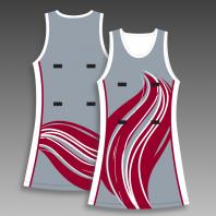 Custom netball dress any color