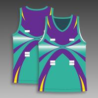 Custom netball tops any color