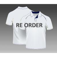 Reorder custom polo shirts inclusive print