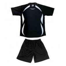 Soccer shirts and shorts with print 16 colour